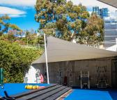 Waterproof Tension Membrane Sails - Cook and Phillip Aquatic and Fitness Centre