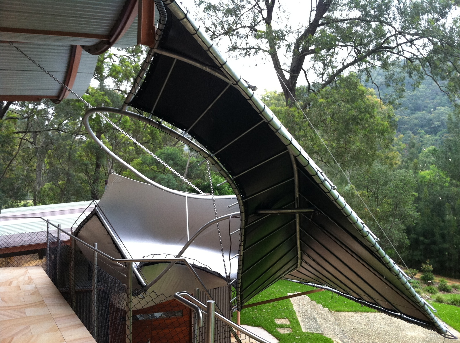 Staircase Awning
